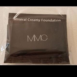 エムアイエムシー(MiMC)のMiMC エムアイエムシー ミネラルクリーミーファンデーション サンプル(ファンデーション)