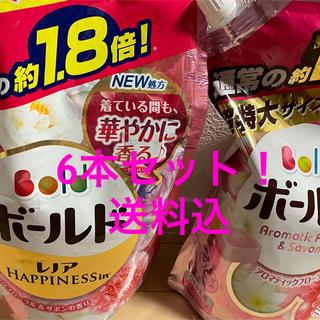 ピーアンドジー(P&G)のボールド ピンク 液体洗剤詰め替え 1.8倍 6本セット(洗剤/柔軟剤)