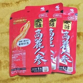 コバヤシセイヤク(小林製薬)の発酵 高麗人参×90日分(その他)