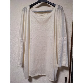 Toogood THE SQUARE LONG TOP S/M リネン(Tシャツ/カットソー(七分/長袖))