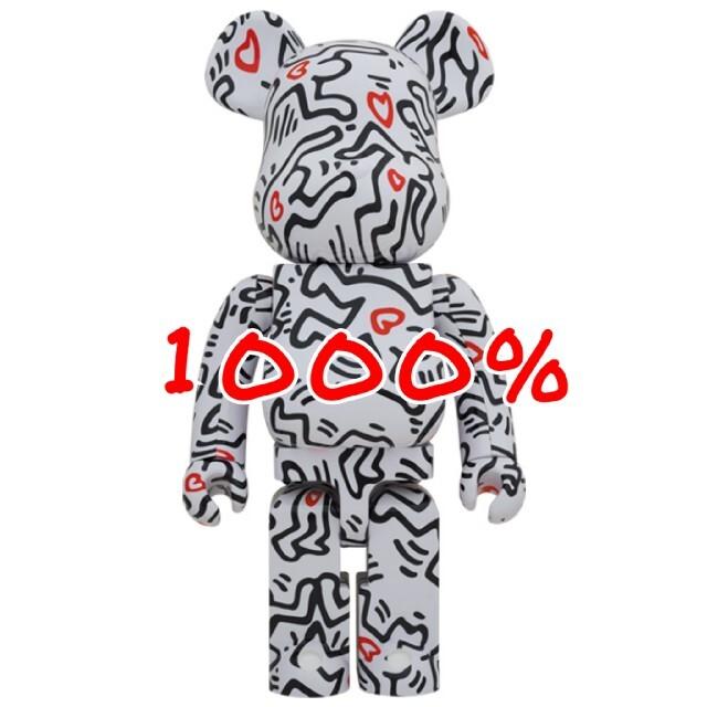 MEDICOM TOY(メディコムトイ)のBE@RBRICK KEITH HARING #8 1000% エンタメ/ホビーのフィギュア(その他)の商品写真