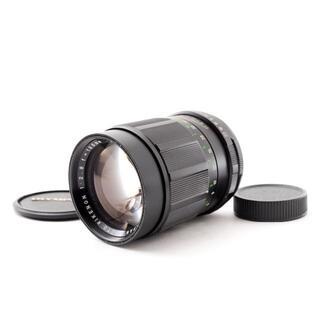 リコー(RICOH)のRICOH AUTO RIKENON 135mm F2.8 M42  0504(レンズ(単焦点))