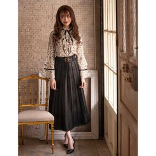 エミリアウィズ(EmiriaWiz)のemiriawiz ♡ レザーピンタックスカート(ロングスカート)