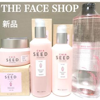 THE FACE SHOP - 【新品】THE FACE SHOP クレンジング 化粧水 乳液 クリーム セット