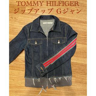 トミーヒルフィガー(TOMMY HILFIGER)のTOMMY HILFIGER ジップ付き Gジャン(Gジャン/デニムジャケット)