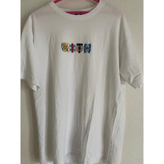 キース(KEITH)のKITH TILE TEE WHITE Lサイズ(Tシャツ/カットソー(半袖/袖なし))