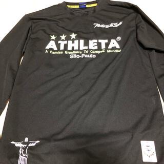 ATHLETA - アスレタ 長袖サッカーシャツ Lサイズ 美品