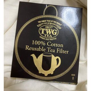 アフタヌーンティー(AfternoonTea)の【新品】TWG 100%コットンティーフィルター サイズ1(その他)