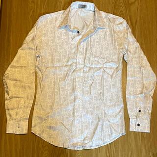 ディオール(Dior)のDIOR シルク オブリーク 長袖シャツ ディオール リアルシルク(シャツ)