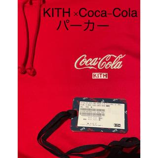 【タイムセール】⭐️KITH ×Coca-Colaパーカー⭐️美品⭐️(パーカー)