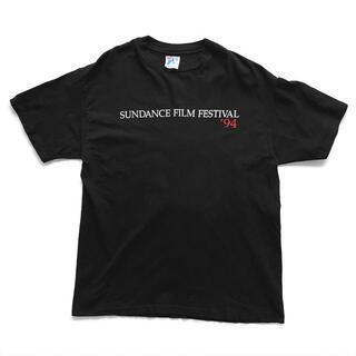 90sヴィンテージ|サンダンス映画祭 '94 Tシャツ [L](Tシャツ/カットソー(半袖/袖なし))