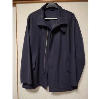 コモリ(COMOLI)のCOMOLI フェルトンシャップジャケット ネイビー サイズ1(ミリタリージャケット)