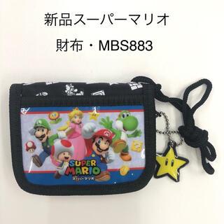 ポケモン(ポケモン)のスーパーマリオ RFウォレット ブラック 財布 ( MBS883)(財布)