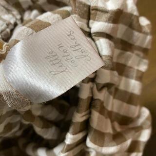 キャラメルベビー&チャイルド(Caramel baby&child )のlittle cotton clothes チェックブルマ(パンツ)