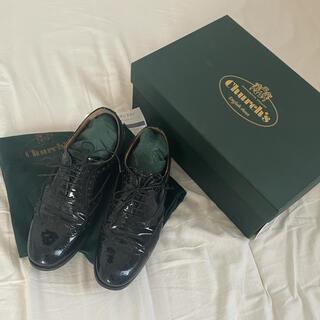 チャーチ(Church's)のchurch チャーチ パテント シューズ(ローファー/革靴)