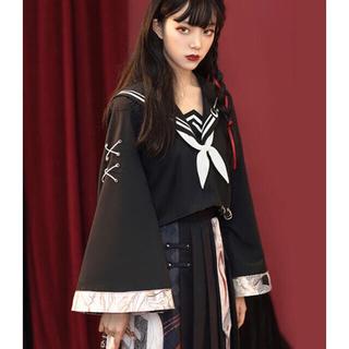 No.205 スケバンJK セーラ服 カッコ可愛い 和風 (衣装一式)