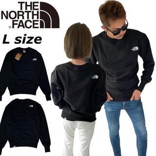 ザノースフェイス(THE NORTH FACE)のノースフェイス トレーナー NF0A5IHV プルオーバー スウェット 黒 L(Tシャツ/カットソー(半袖/袖なし))