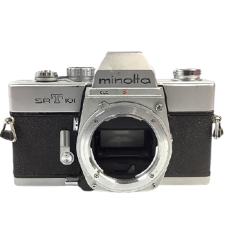 コニカミノルタ(KONICA MINOLTA)の (ミノルタ) MINOLTA SRT101 フィルムカメラ(フィルムカメラ)