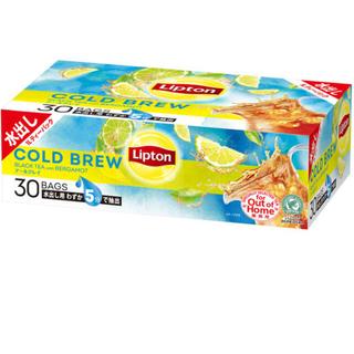 リプトン コールドブリューティーバッグ アールグレイティー 1箱(30バッグ入)(茶)
