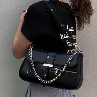 ACLENT Eyelet design round bag(ショルダーバッグ)