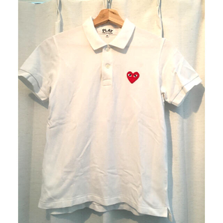 コムデギャルソン(COMME des GARCONS)の【コムデギャルソン】レディースポロシャツ(Mサイズ)(ポロシャツ)