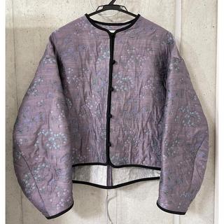 マメ(mame)のmame kurogouchi Floral Jacquard Jacket(ブルゾン)