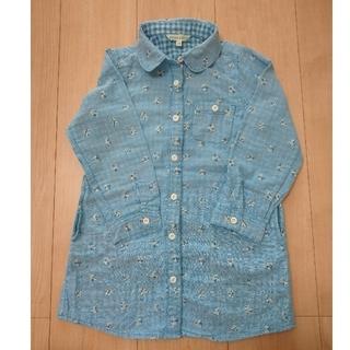 サンカンシオン(3can4on)のシャツワンピース(Tシャツ/カットソー)