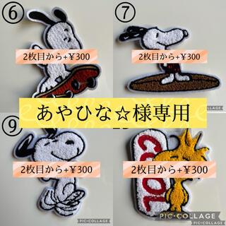 スヌーピー(SNOOPY)の【あやひな☆様専用】(各種パーツ)