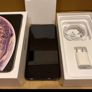 アイフォーン(iPhone)の iPhone Xs Max 256GB gold(スマートフォン本体)