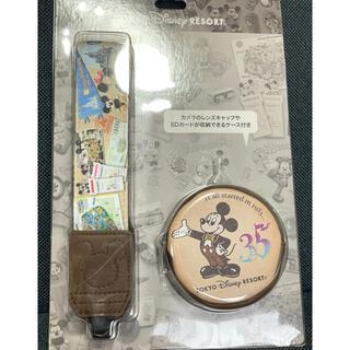 ディズニー(Disney)のディズニー カメラストラップ 35周年(ネックストラップ)