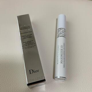 ディオール(Dior)のディオールショウマキシマイジー3D マスカラ下地(マスカラ下地/トップコート)