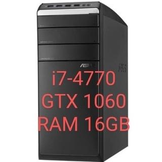 エイスース(ASUS)のゲーミングPC ASUS M51AD-JP001Sグレードアップ品(デスクトップ型PC)