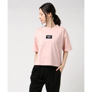 コンバース(CONVERSE)のconverse tokyo ワッペンTシャツ(ピンク)(Tシャツ(半袖/袖なし))
