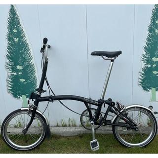 ブロンプトン(BROMPTON)のBRONPTONブロンプトンM3Lブラック(自転車本体)