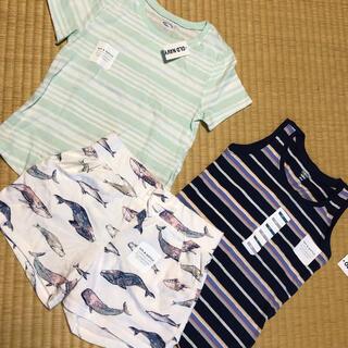 オールドネイビー(Old Navy)のOLD NAVY  Tシャツ、ショートパンツ、タンクトップ 3点セット(パンツ/スパッツ)