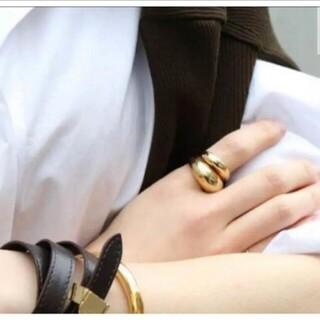 ドゥーズィエムクラス(DEUXIEME CLASSE)のDeuxieme Classe 【LAVER】GOLD BIG R リング(リング(指輪))