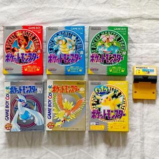 ゲームボーイ(ゲームボーイ)のポケットモンスター【まとめ売り】(携帯用ゲームソフト)
