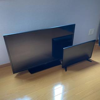 SHARP - シャープ40型TV 24型TV モニター2台セット