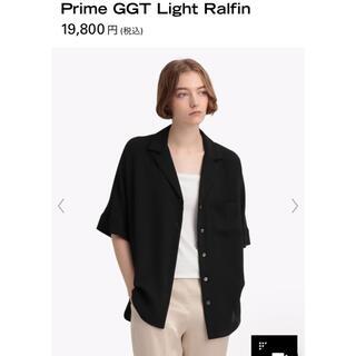 セオリー(theory)のtheory Prime GGT Light Ralfin 黒(シャツ/ブラウス(半袖/袖なし))