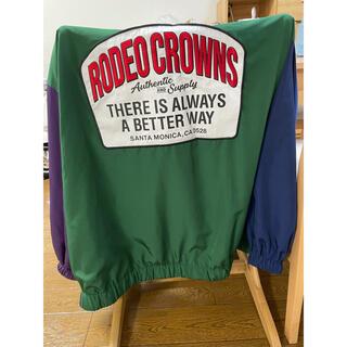 ロデオクラウンズワイドボウル(RODEO CROWNS WIDE BOWL)のルーズコーチジャケット ロデオクラウンズ(ブルゾン)