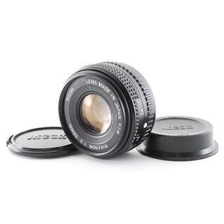 リコー(RICOH)の■美品■ リコー RICOH RIKENON 50m F2   0385(レンズ(単焦点))