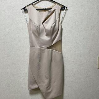エンジェルアール(AngelR)のL☆様専用 AngelR エンジェルアール キャバドレス ベージュ (ナイトドレス)