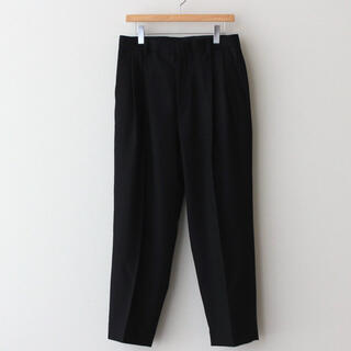 1LDK SELECT - stein  シュタイン  EX WIDE TAPERED TROUSERS 黒