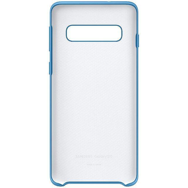 SAMSUNG(サムスン)のGalaxy S10 シリコーンケース /ブルー純正 スマホ/家電/カメラのスマホアクセサリー(Androidケース)の商品写真