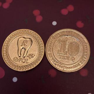 キューポット(Q-pot.)のキューポット ポイント交換 ゴールドコイン 1枚 Q−pot(ノベルティグッズ)