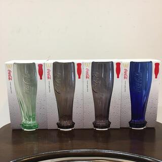 コカコーラ(コカ・コーラ)の【新品・未使用】コカコーラ グラス 非売品(グラス/カップ)