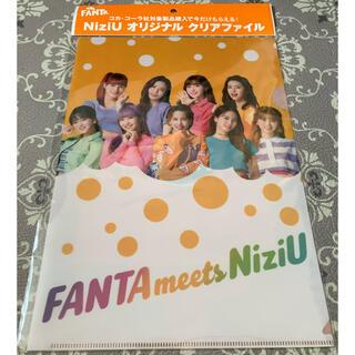 コカコーラ(コカ・コーラ)のNiziU ファンタ オリジナル クリアファイル(アイドルグッズ)