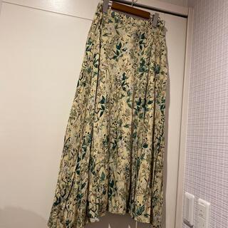 アンレクレ(en recre)のヴィンテージ花柄のおしゃれなスカート(ロングスカート)