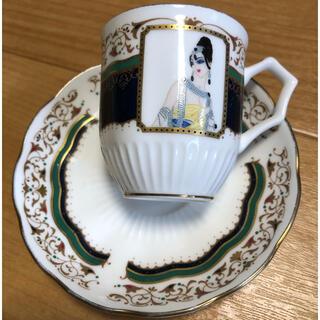 シセイドウ(SHISEIDO (資生堂))の資生堂 花椿会 ノベルティ デミタスカップ&ソーサー(食器)