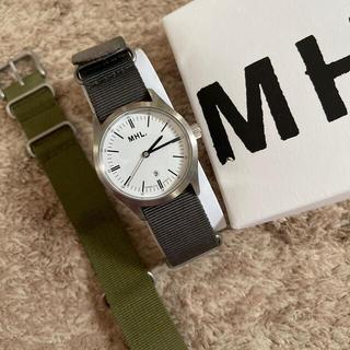 マーガレットハウエル(MARGARET HOWELL)の【専用】MHL.  腕時計 替ベルト(腕時計)